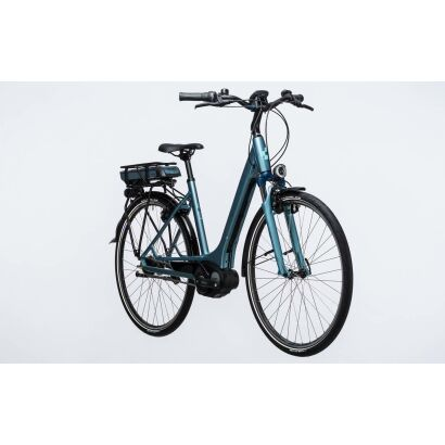 Cube Travel Hybrid ONE RT 400 Tiefeinsteiger E-Bike 2017 | bluegreen´n´blue