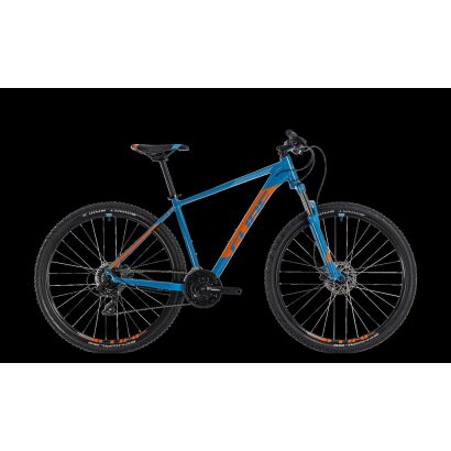 cube aim pro 27 5 mtb hardtail 2018 blue n orange. Black Bedroom Furniture Sets. Home Design Ideas