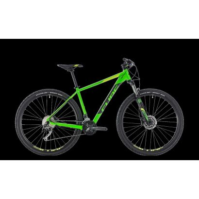 Cube Analog 27,5 - MTB Hardtail 2018 | flashgreen´n´grey