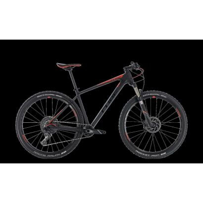 Cube Reaction C:62 Pro 29 - MTB Hardtail 2018 | carbon´n´red