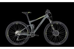 Cube Stereo 120 Pro MTB Fully 27,5 2018 | grey´n´flashyellow