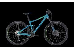 Cube Stereo 120 Race MTB Fully 27,5 2018 | blue´n´green