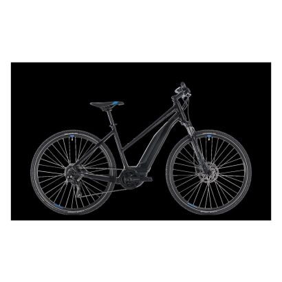 Cube Cross Hybrid ONE 500 Damen E-Bike 2018 | black´n´blue