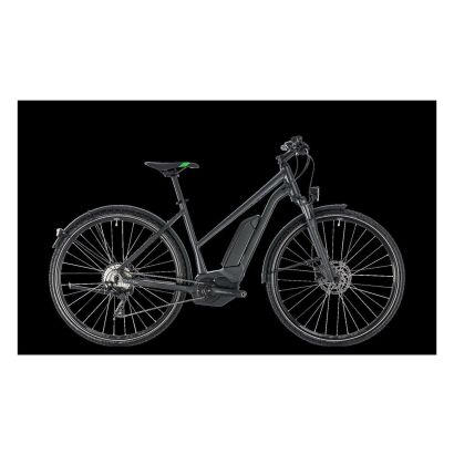 Cube Cross Hybrid Pro Allroad 400 Damen E-Bike 2018 | grey´n´flashgreen