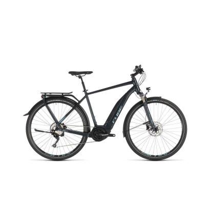 Cube Touring Hybrid Pro 500 Trekking E-Bike 2019 | darknavy´n´blue
