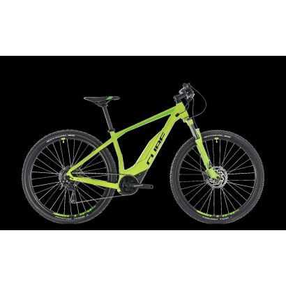 great deals buying new sale retailer Cube Acid Hybrid ONE 500 29 E-Mountainbike 2018 green´n´black