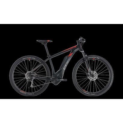 cube reaction hybrid one 500 29 e bike 2018 black n red. Black Bedroom Furniture Sets. Home Design Ideas