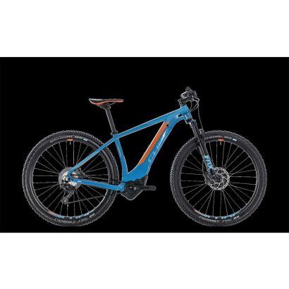 cube reaction hybrid slt 500 29 e bike 2018 blue n orange. Black Bedroom Furniture Sets. Home Design Ideas