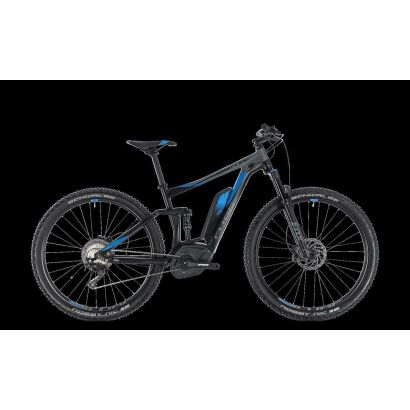 "Cube Stereo Hybrid 120 EXC 500 27,5"" E-Bike 2018 | black´n´blue"