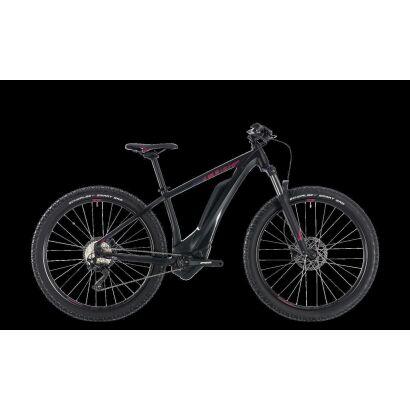 cube access hybrid pro 500 27 5 e bike 2018 black n berry. Black Bedroom Furniture Sets. Home Design Ideas