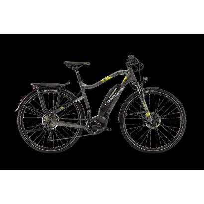 Haibike SDURO Trekking 4.0 Trekking E-Bike 2018 | Anthrazit/Schwarz/Lime