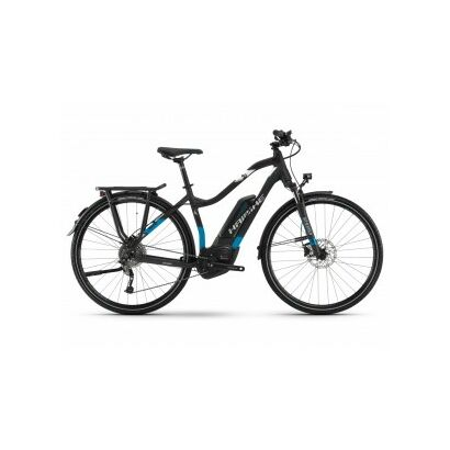 Haibike SDURO Trekking 5.0 Trekking E-Bike 2018 | Schwarz/Blau/Weiß matt