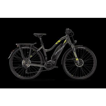 Haibike SDURO Trekking 4.0 Trekking Damen E-Bike 2018 | Anthrazit/Schwarz/Lime