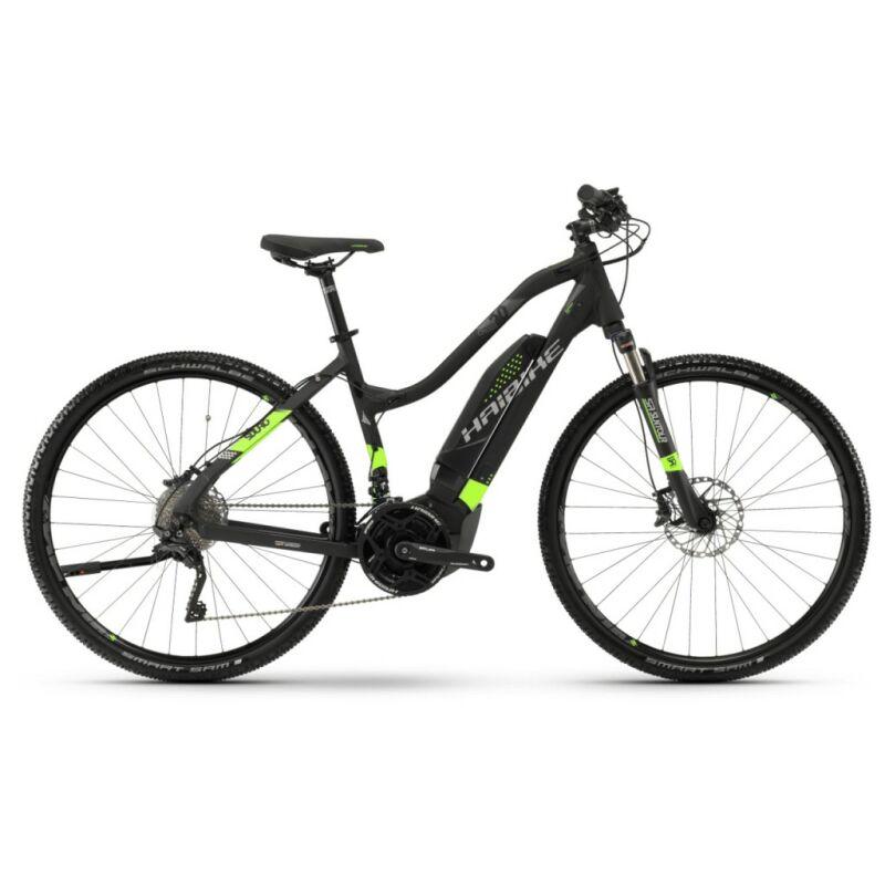 haibike sduro cross 6 0 cross damen e bike 2018 schwarz. Black Bedroom Furniture Sets. Home Design Ideas