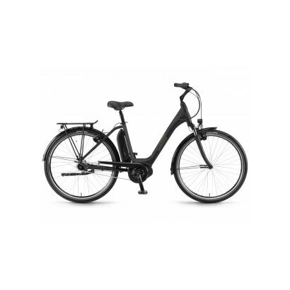 Winora Sima N7 400 Tiefeinsteiger 7-Gang Nexus RT City E-Bike 2020 | Schwarz matt