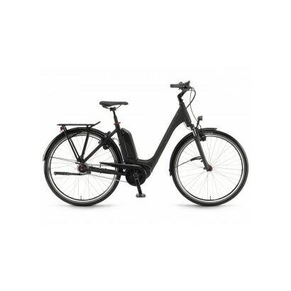 Winora Sinus Tria N8 Tiefeinsteiger City E-Bike 2021   Schwarz matt