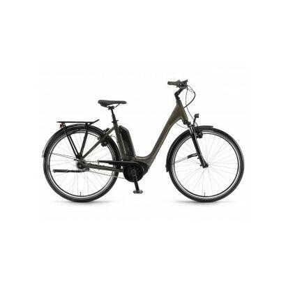 Winora Sinus Tria N8f Tiefeinsteiger City E-Bike 2018 | Mineralbraun