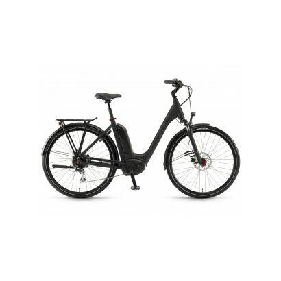 Winora Sinus Tria 8 Tiefeinsteiger City E-Bike 2018 | Schwarz matt